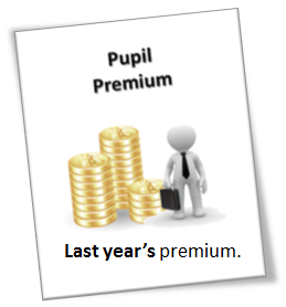 Pupil Premium - last year
