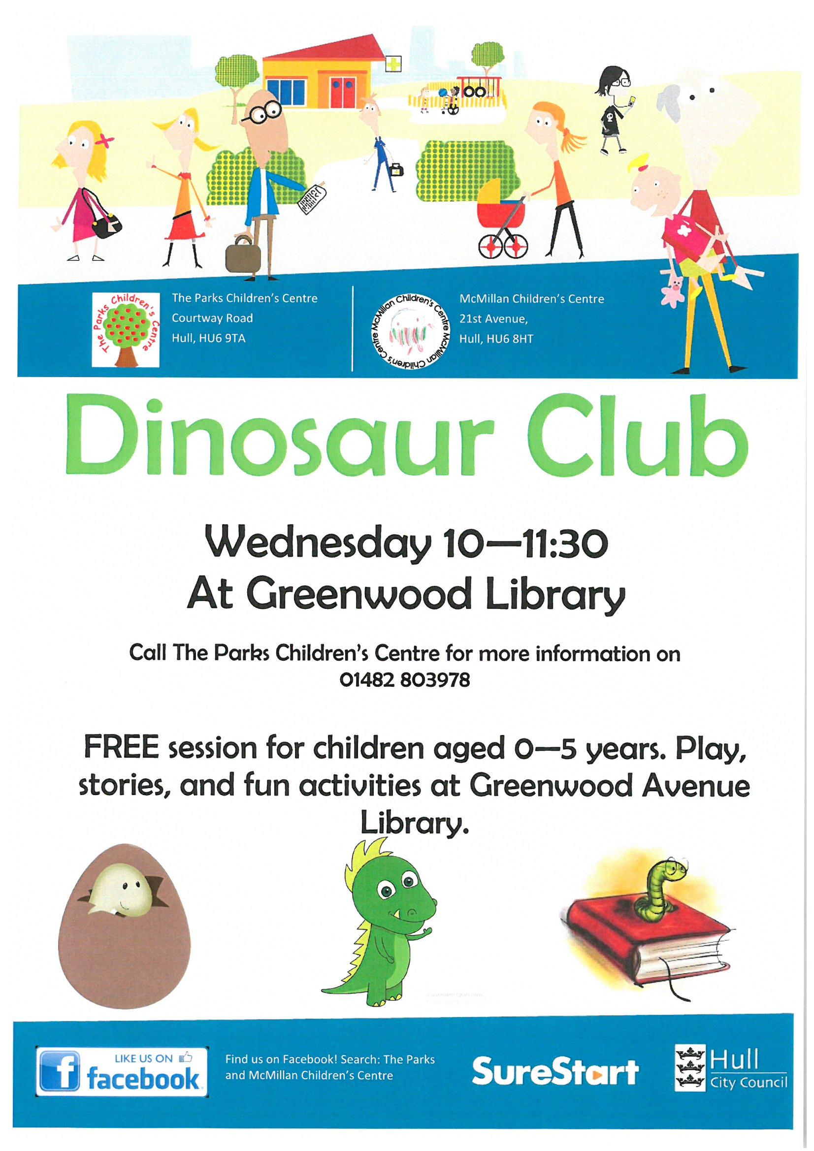 Dinosaur Club | McMillan Nursery School